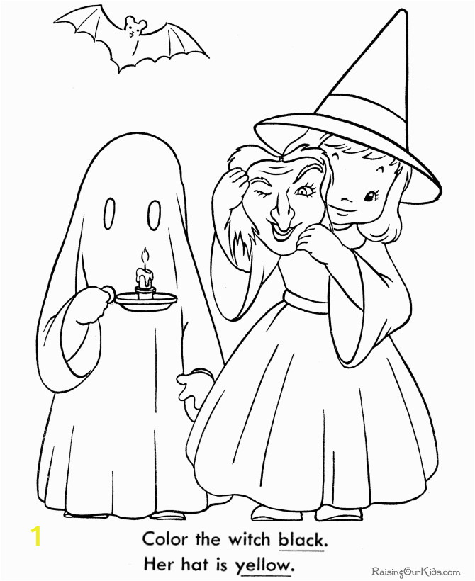 Vintage Halloween Coloring Pages Printable Halloween Coloring Book Pages Vintage