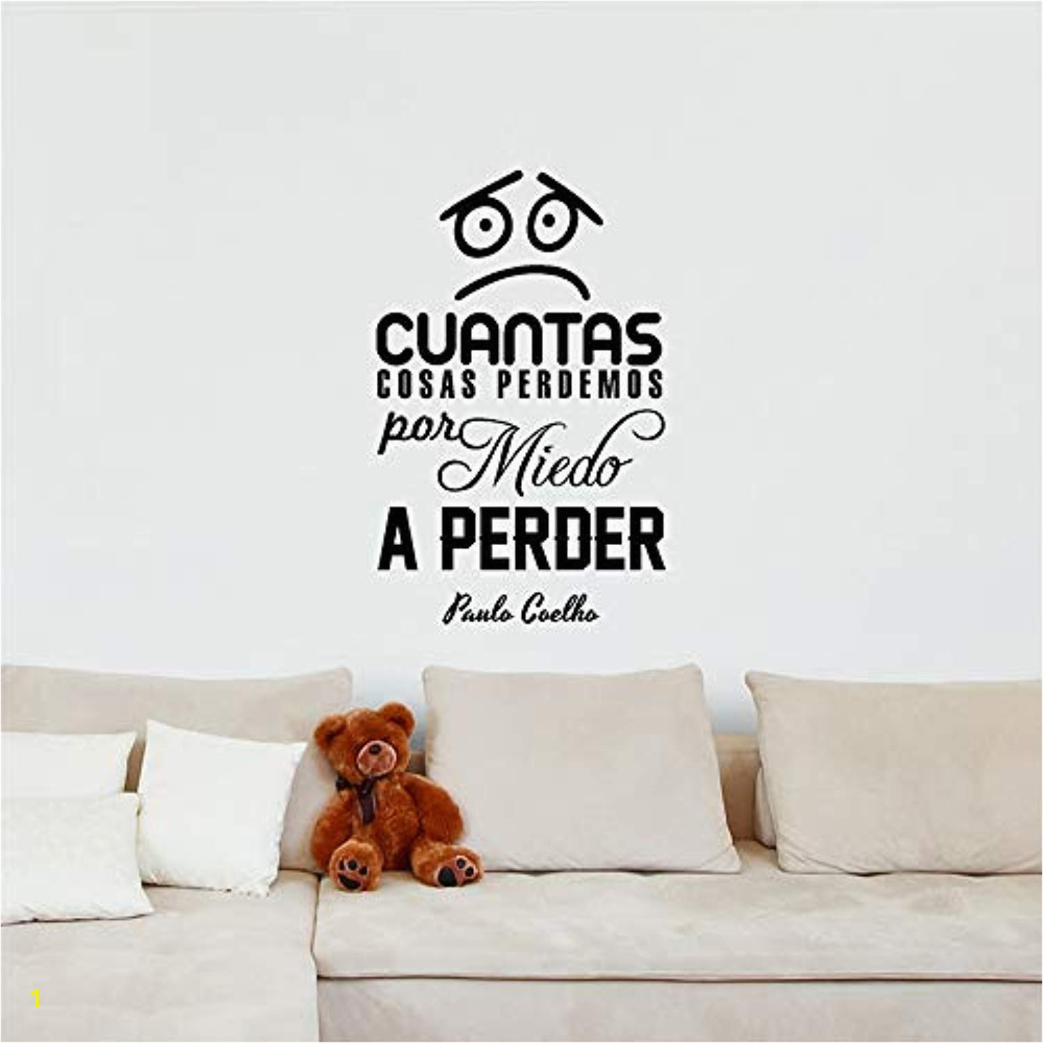Wall Decal Mural Stickers Amazon Peel and Stick Mural Spanish Quote Cuántas Cosas
