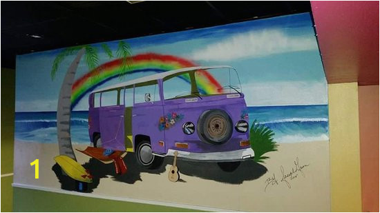 wall mural local artist