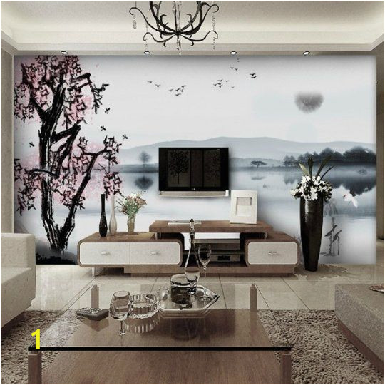 Wall Mural Behind Tv Use Super Size Walls Murals to Reduce the Presence Of