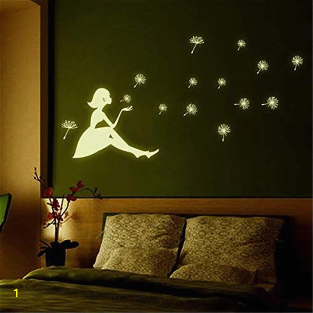 Wall Mural Glow In the Dark Amazon 3d Wall Sticker Art Sticker Applique Mural Glow