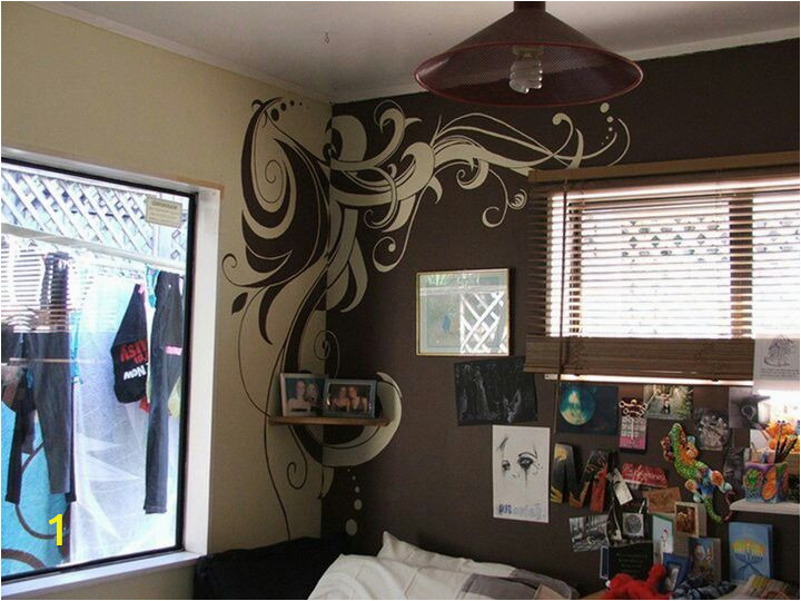 Wall Mural Ideas Diy Diy Wall Mural Between Two Different Colored Walls