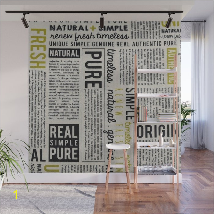 newspaper wall murals
