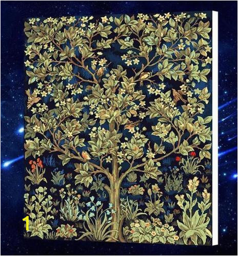 diy paint by number kit for adults on canvas tree of life william morris clean pbn 250x250 2x