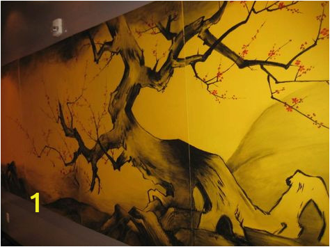 Wall Mural Painting Tips Hd Wall Painting Tips Wallpaper asian Mural In Restaurant