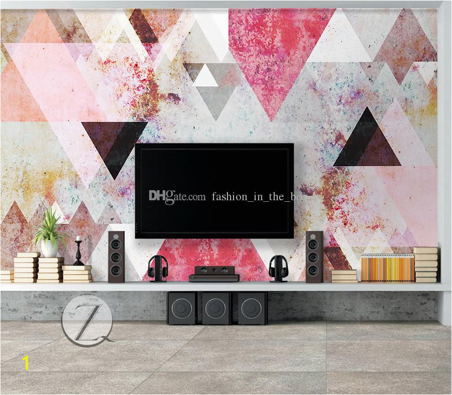 3d nordic wallpaper abstract geometry wall