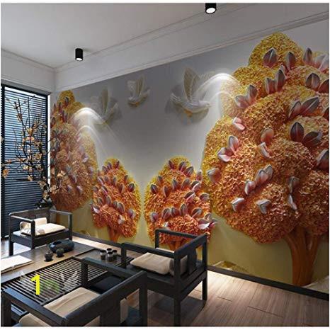 Wall Mural Wallpaper Amazon Amazon Pbldb Custom Size Background 3d Wall Paper