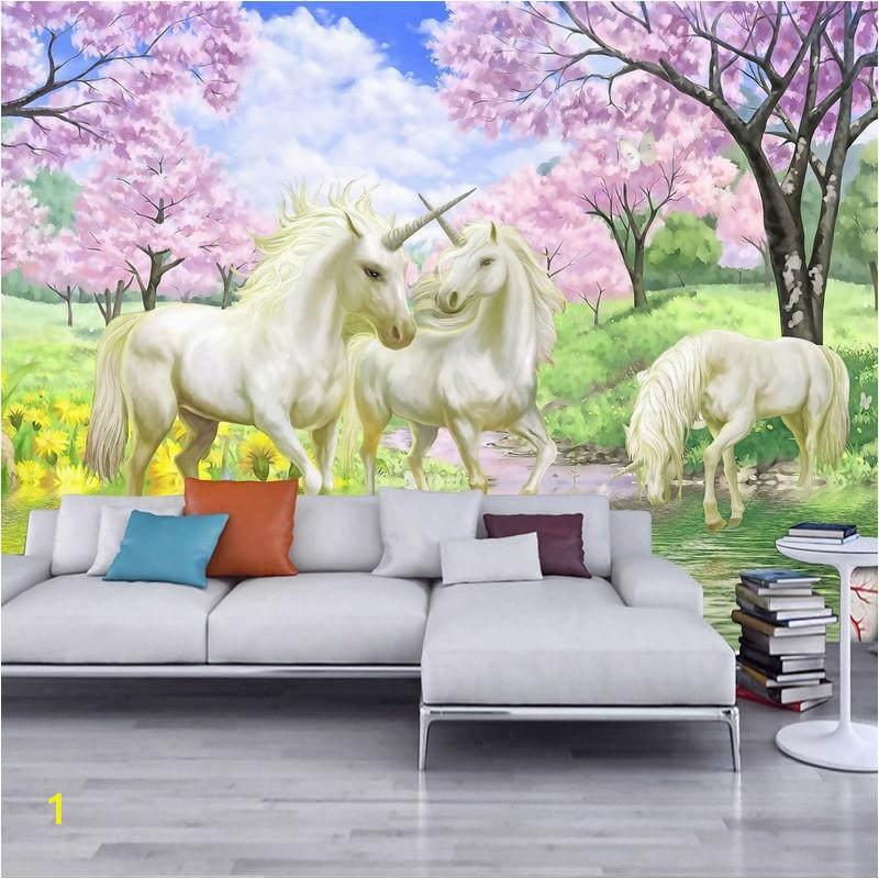 kupuj online wyprzedaowe unicorn wall murals wallpaper od wall murals unicorn l 7a55b9333f7c6847
