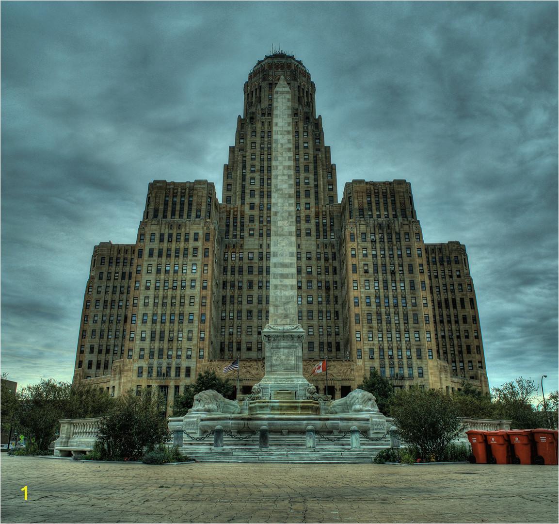 Buffalo City Hall HDR