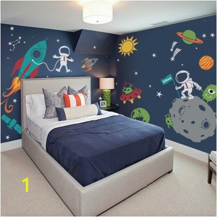 Wall Murals for toddlers Room Outer Space Wall Decal