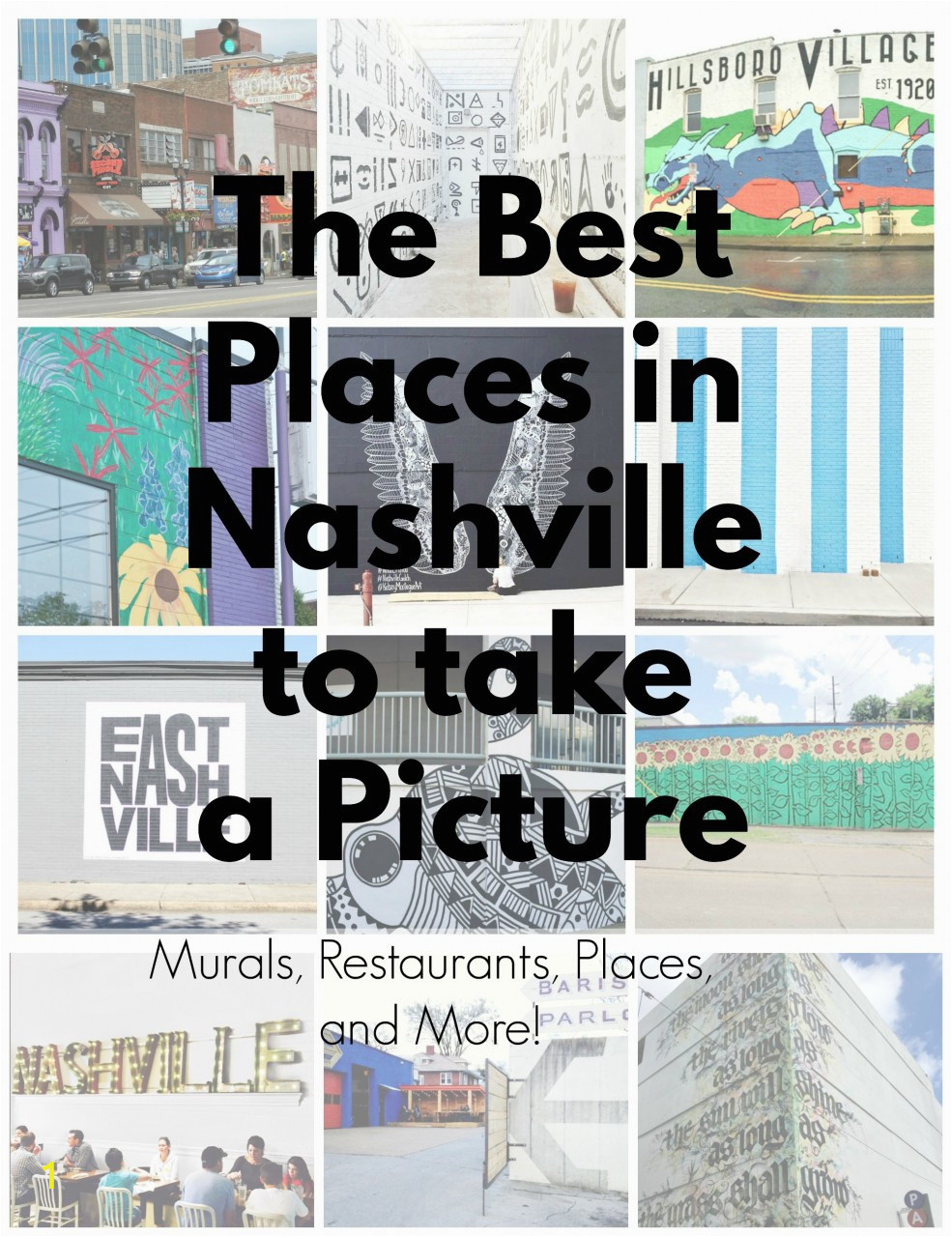 the best places in nashville to take a picturs