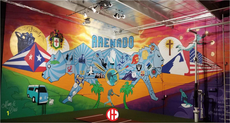 Vivache Designs Arenado Mural Painter Mural Artist Muralist Los Angeles