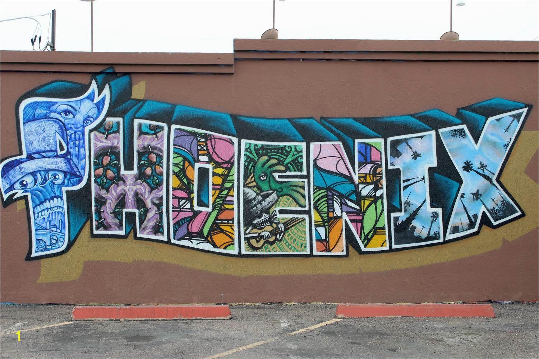 Wall Murals In Phoenix Phoenix Murals Turn Immigration Controversy Into Latino