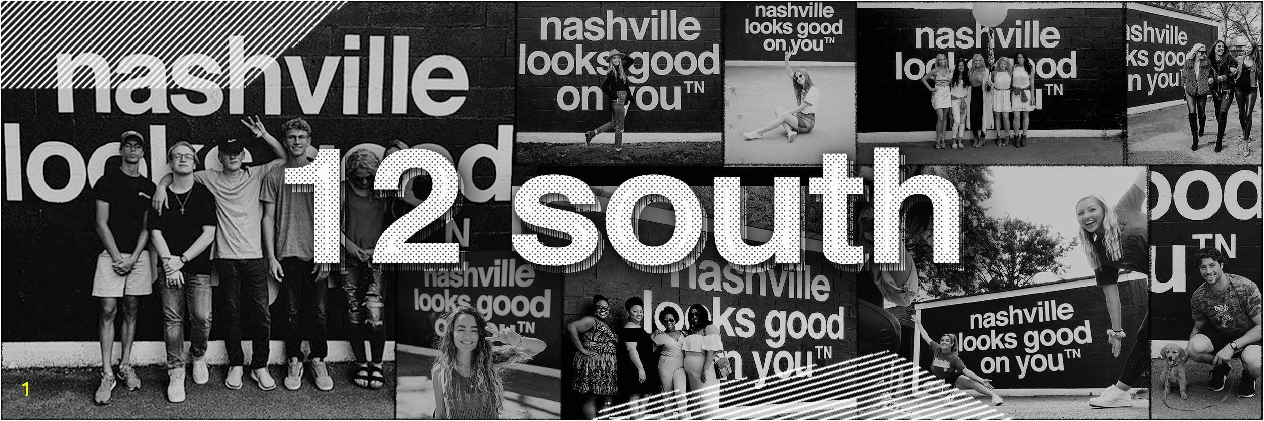 Wall Murals Nashville Tn the Plete List Nashville Looks Good On You Mural