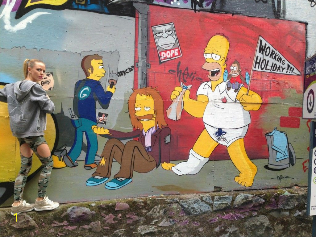 Wall Murals Vancouver Bc Located In A Private Parking Lot Between the Amsterdam Café