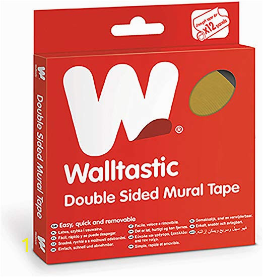 Walltastic Double Sided Wall Mural Tape Walltastic Wt Traditional Double Sided Mural Tape Transparent