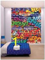 Walltastic Graffiti Wall Mural Mural Bedroom for Kids Shopstyle Uk
