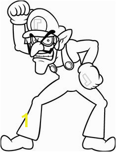Waluigi Coloring Pages Printable 30 Best Coloring Pages Images