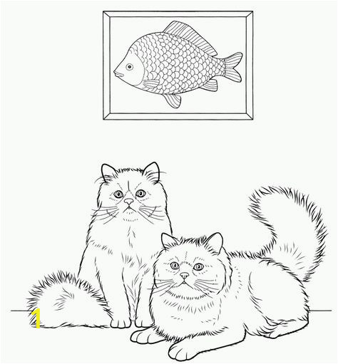 Warriors Cats Coloring Pages Free Cat Coloring Pages for Adults