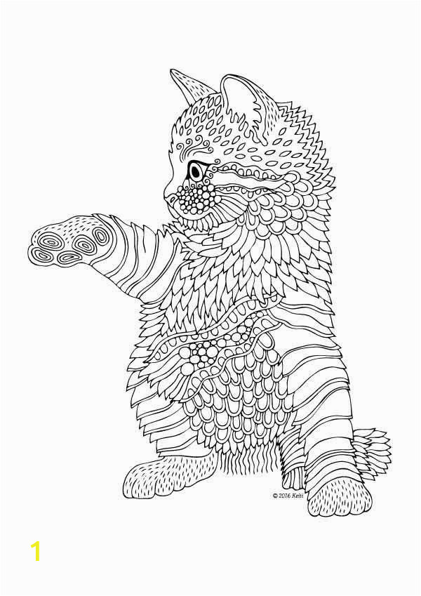 awesome coloring pages cat for adults of coloring pages cat for adults 1