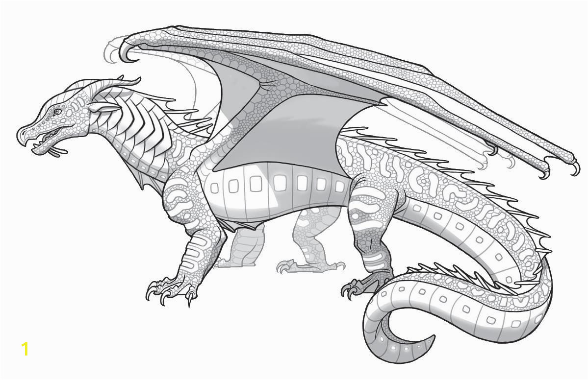 Wings Of Fire Dragon Coloring Pages Of Fire Coloring Pages Coloring