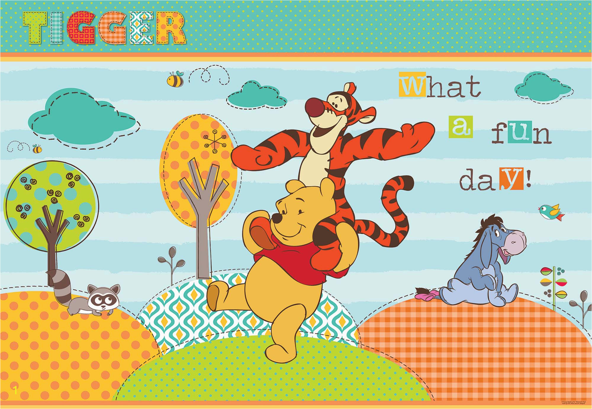 disney winnie the pooh wallpaper 1 p