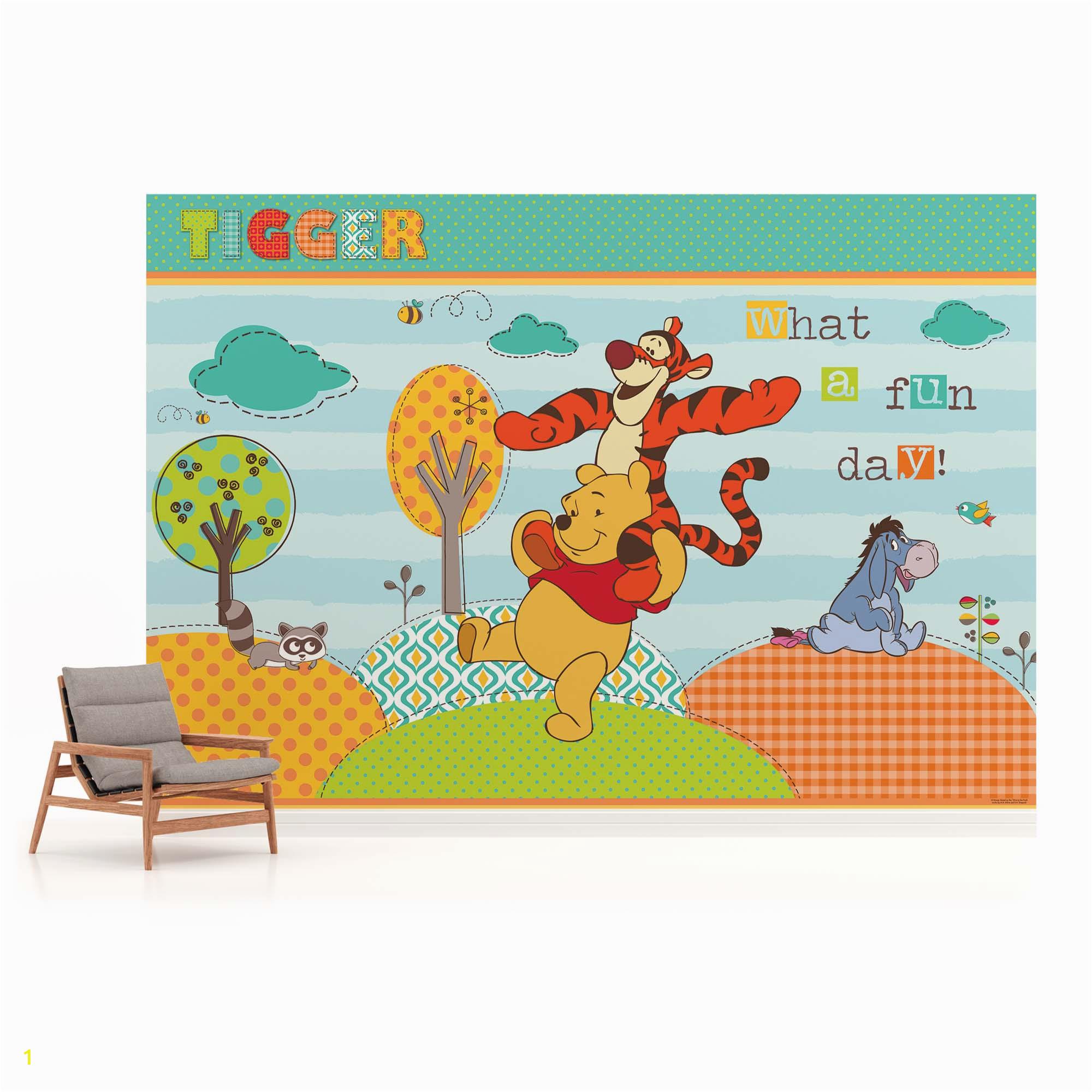 Winnie the Pooh Wall Murals Uk Disney Winnie the Pooh Wallpaper