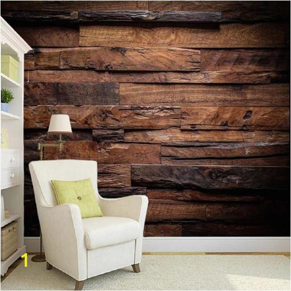 Wood Panel Wall Mural Arkadi Custom Wallpaper Murals Wall Painting Retro Nostalgic Wood Panels Wood Grain Wall Mural De Parede 3d Wallpaper for Walls Backgrounds