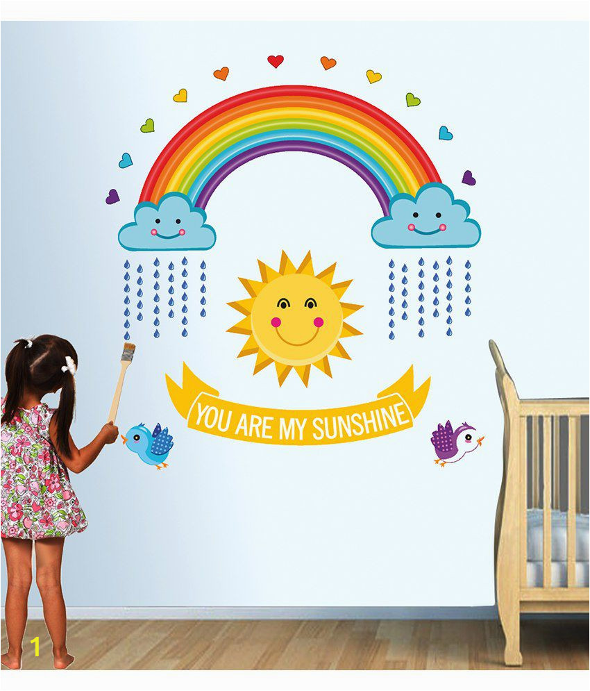 Stickerskart Red and Yellow Nursery SDL 1 7d23f