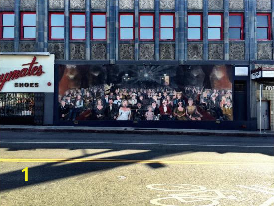 hollywood murals you