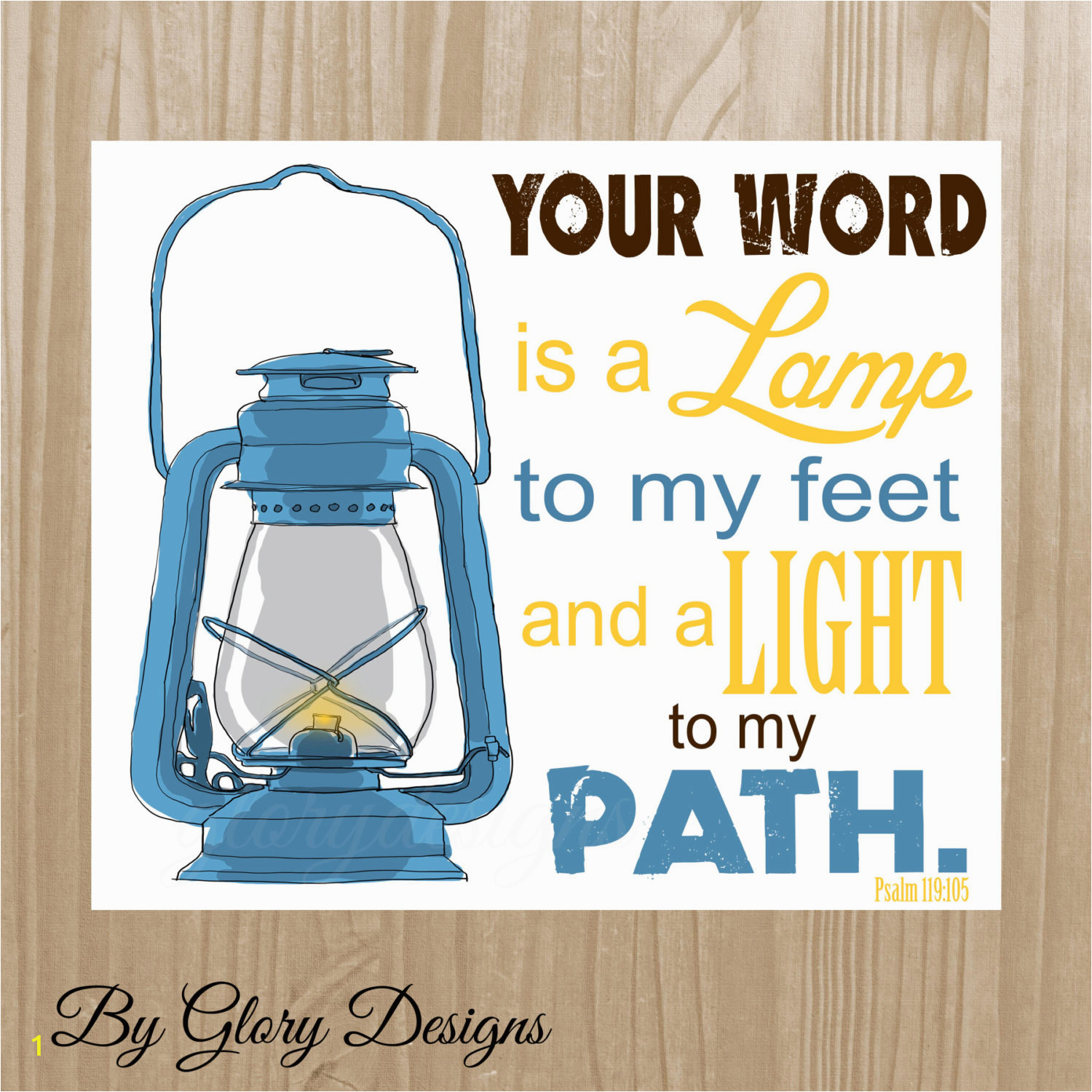 Your Word is A Lamp Unto My Feet Coloring Page 2