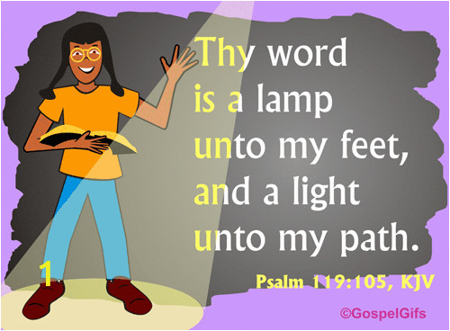 Your Word is A Lamp Unto My Feet Coloring Page 4