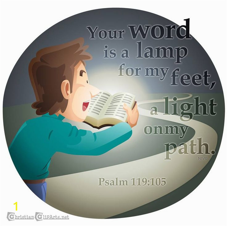 Your Word is A Lamp Unto My Feet Coloring Page 5