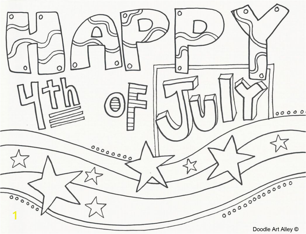 4th Of July Coloring Pages Free Printable 4th Of July Coloring Pages for Kids