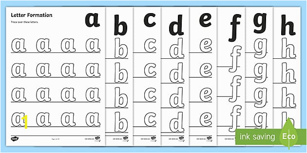 T S 129 a z Letter Formation Worksheets ver 6