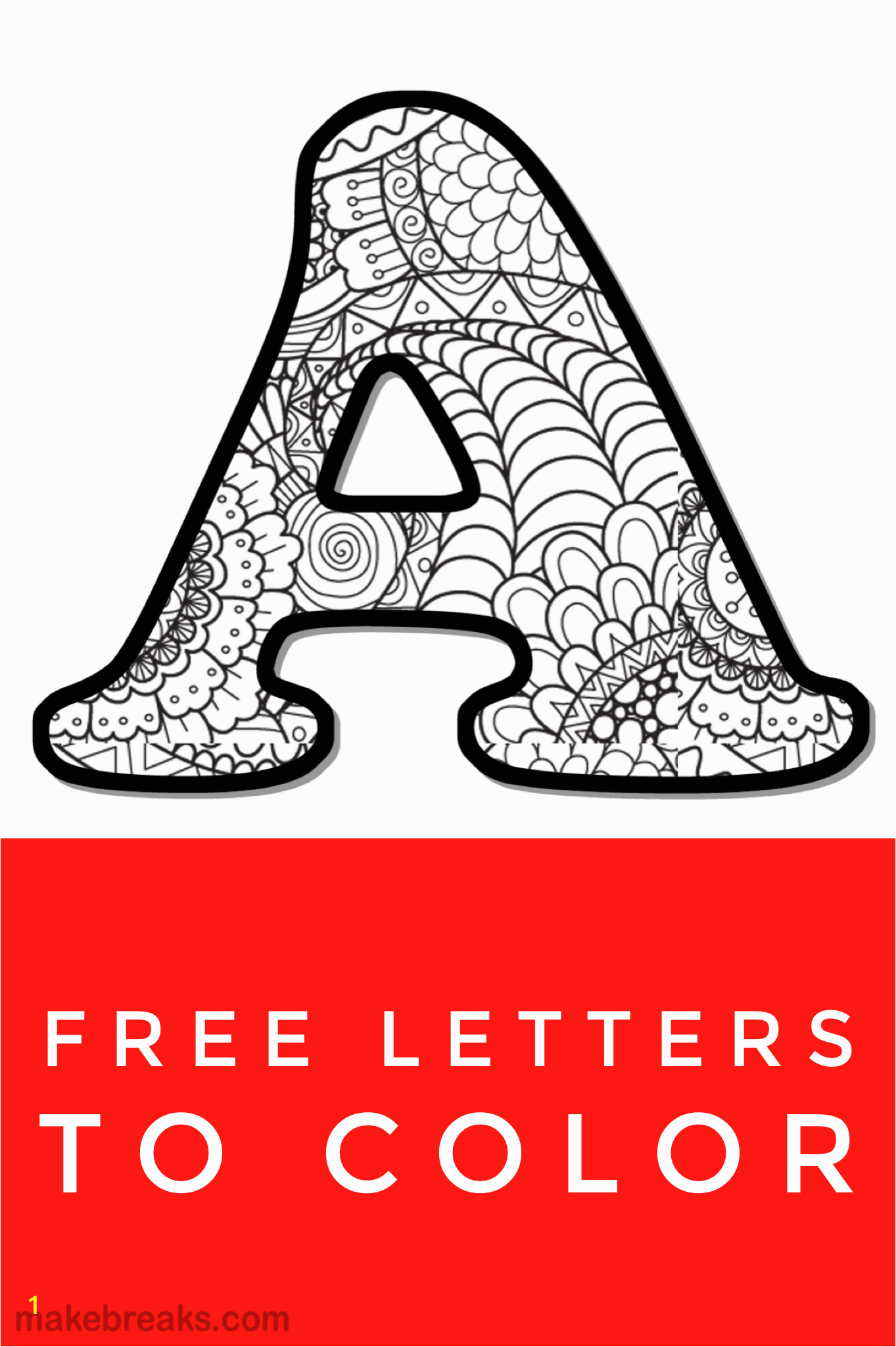 Alphabet Coloring Pages Free Printable Printable Letter Alphabet Coloring Pages Kids