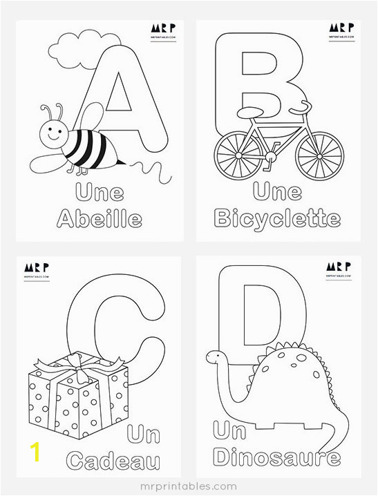 mrprintables french alphabet coloring pages