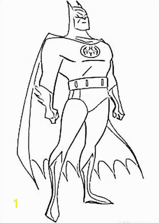 Batman Vs Superman Coloring Pages Printable Free Batman Superhero Coloring Pages Printable 4456cf