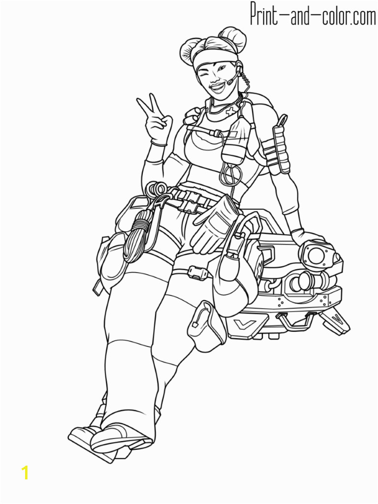 Big Iron Man Coloring Book Apex Legends Coloring Pages with Images