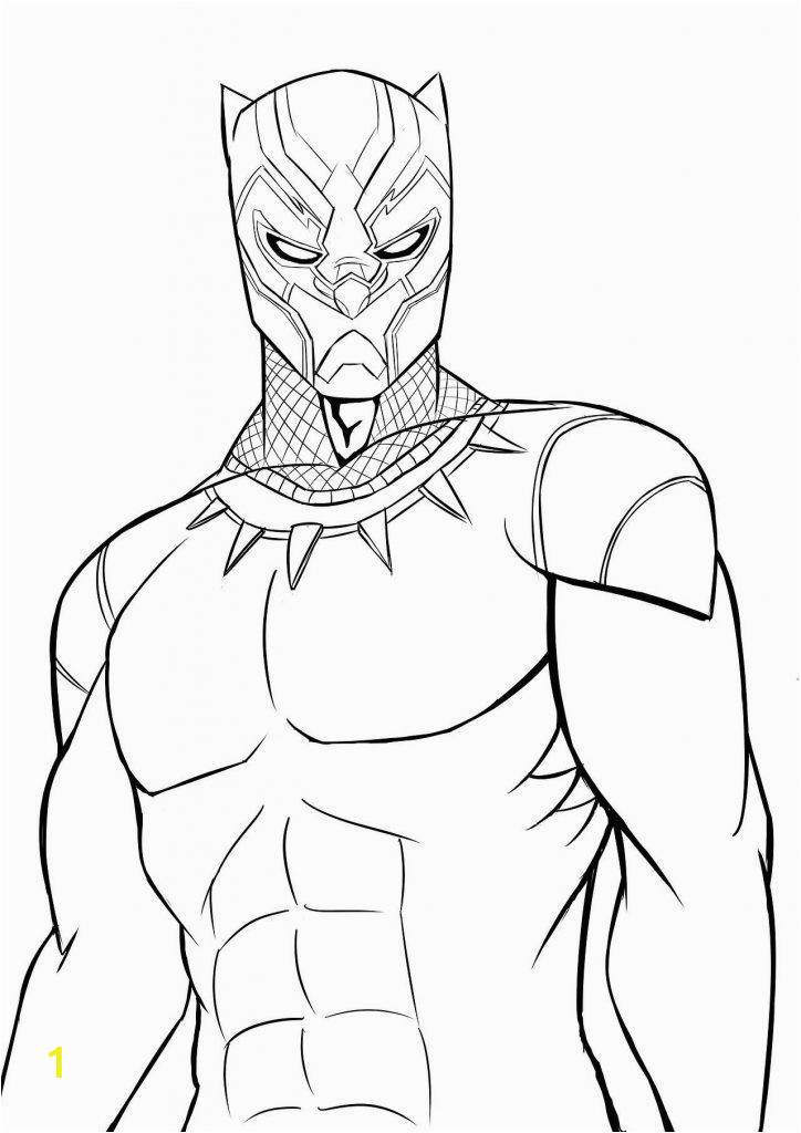 Black Panther Coloring Pages Printable Black Panther Coloring Pages with Images
