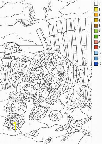 Color by Number Coloring Book Download Pin Auf Malbilder