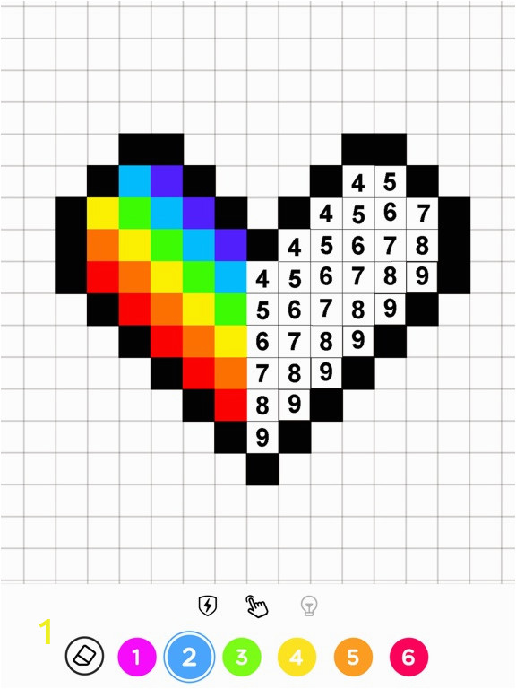Color by Number Coloring Game iTunes Colors by Number – No Draw