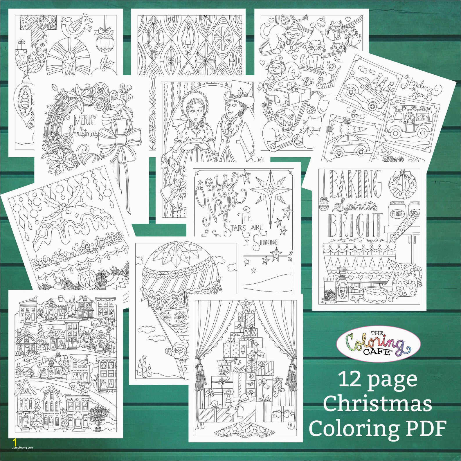 christmas color by number printables for adults unique christmas holiday etsy coloring books pages and bundles of christmas color by number printables for adults