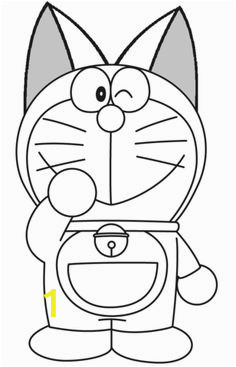 Coloring Kitty and Painting Doraemon for toddlers 100 Best Doraemon Coloring Pages Images
