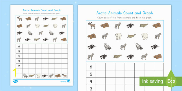 us t arctic animals count and graph activity sheet ver 1