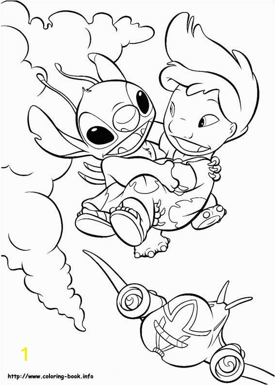 Coloring Pages Disney Lilo and Stitch Lilo and Stitch Coloring Picture Stitch