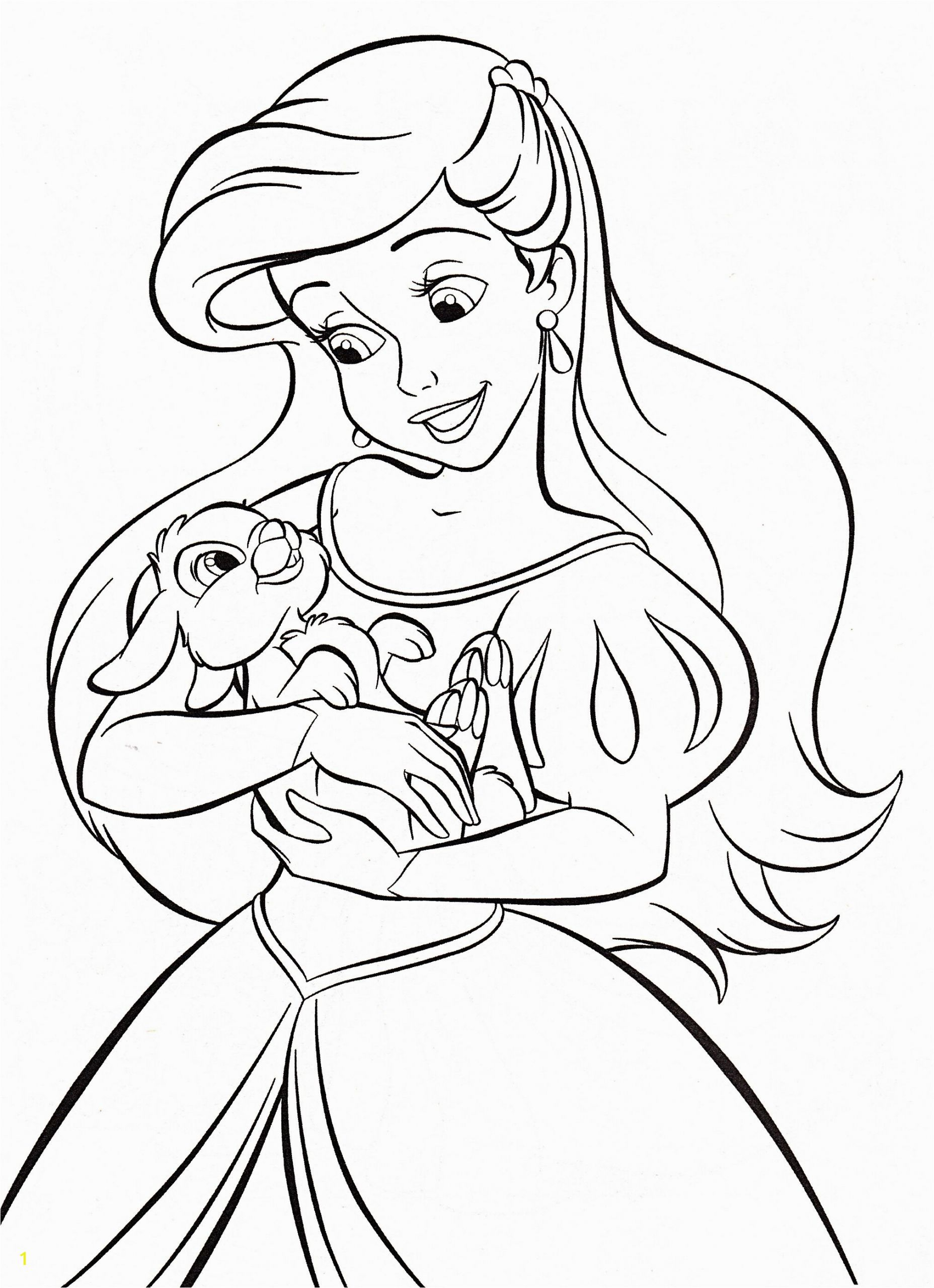Coloring Pages Disney Princess Ariel Walt Disney Coloring Pages Princess Ariel Mit Bildern
