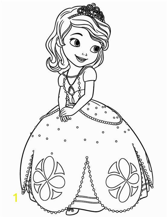 Coloring Pages Disney Princess sofia Princess sofia Disney