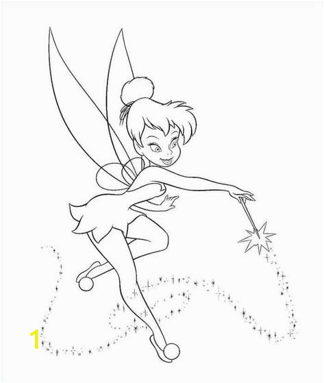 Coloring Pages Disney Tinkerbell and Friends Printable Tinkerbell Coloring Pages In 2020