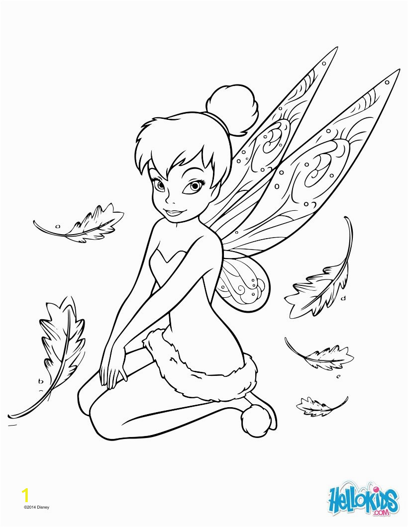 tinker bell coloring page g6k